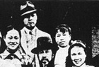 江青与前夫唐纳的婚礼照
