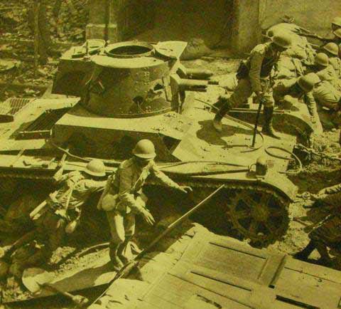 抗战中的中国战车[组图]