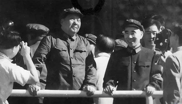 毛泽东与林彪的一些少见合影[组图]