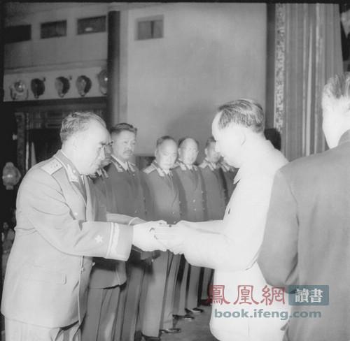 1955年开国将帅授衔仪式珍贵纪实图片