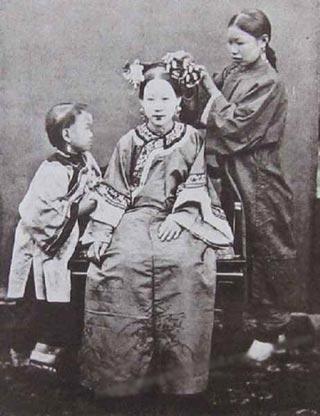 中国古代妇女生活[组图]