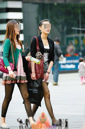 街拍美女上传网络 未征得同意是侵犯肖像权(图)