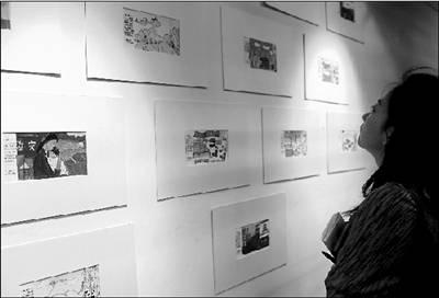 汶川儿童手绘明信片义卖(图)_读书_凤凰网