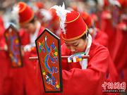 韩国举行春季孔子释奠大祭(组图)