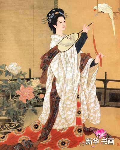 """南八艳""""之一,冲冠一怒为红颜,吴三桂为见她起兵造反,足见其美"""