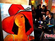 """台北平民举办""""裸生""""艺术展(组图)"""