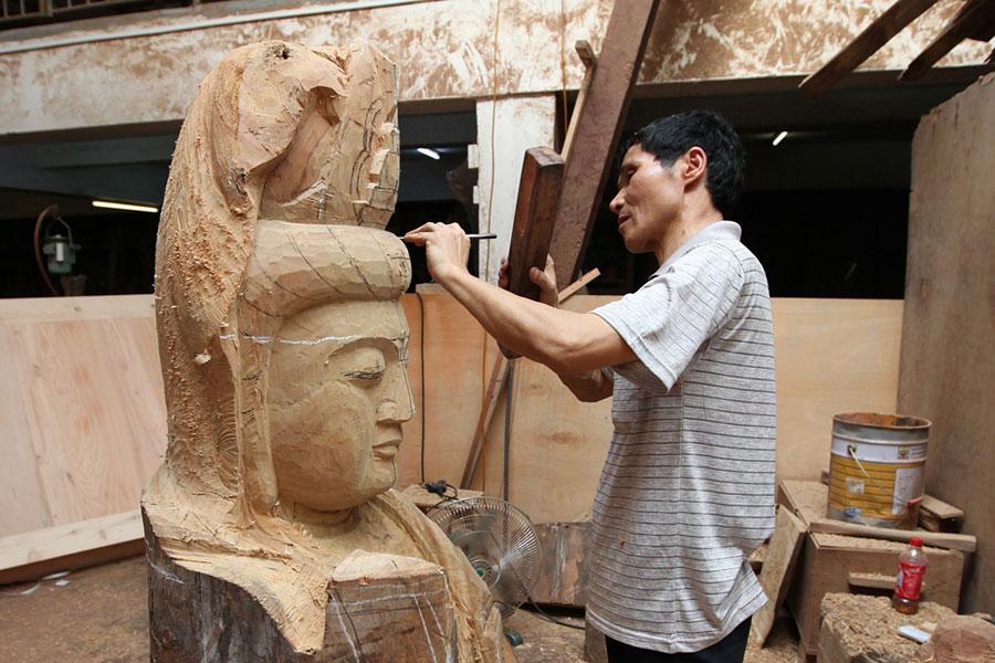 6月18日 参观潮州木雕 品潮州功夫茶 赏潮州音乐和潮剧