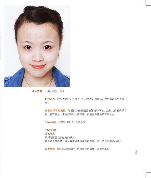 揭秘普通人变明星的真实化妆全过程[组图]