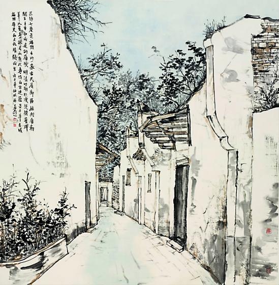 中国当代名家*林容生/三坊七巷 - 香儿 - xianger