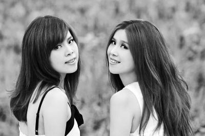 两张姐妹头像文艺小清新森系