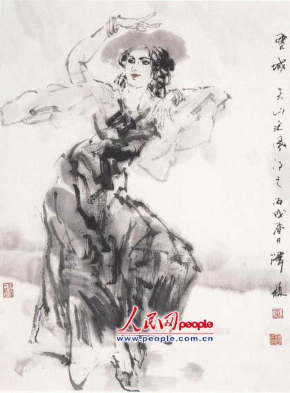 新疆人物舞蹈系列之三