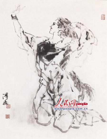 新疆人物舞蹈系列之七