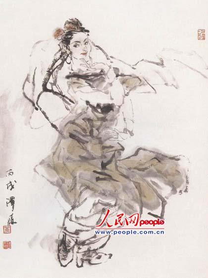 新疆人物舞蹈系列之一