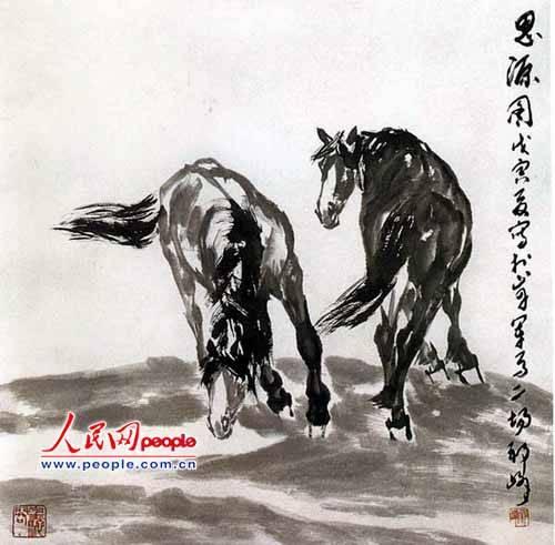 祁峰国画作品欣赏_文化频道