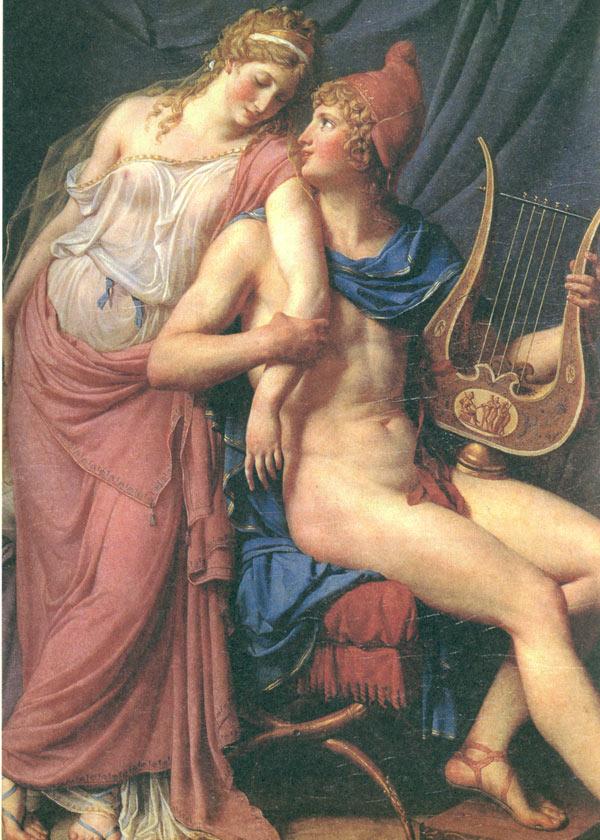 插图 希腊神话故事/特洛伊战争是以争夺世上最漂亮的女人海伦(Helen)为起因...