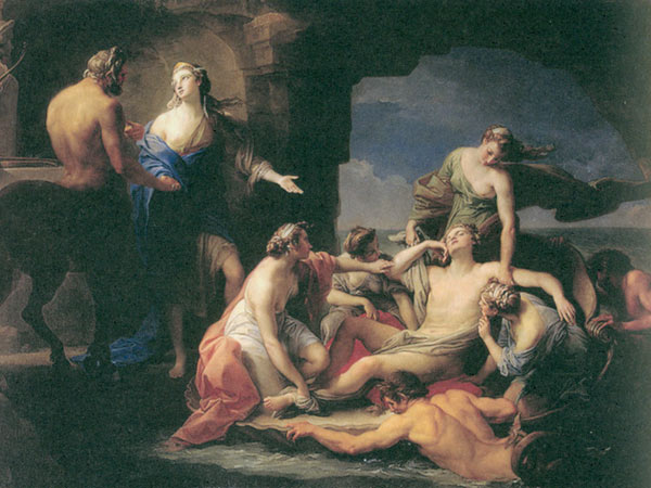 组图:希腊神话故事插图(五)