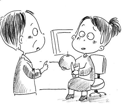 动漫 简笔画 卡通 漫画 手绘 头像 线稿 399_340