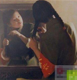 文革中难得一见的美丽女红卫兵老照片