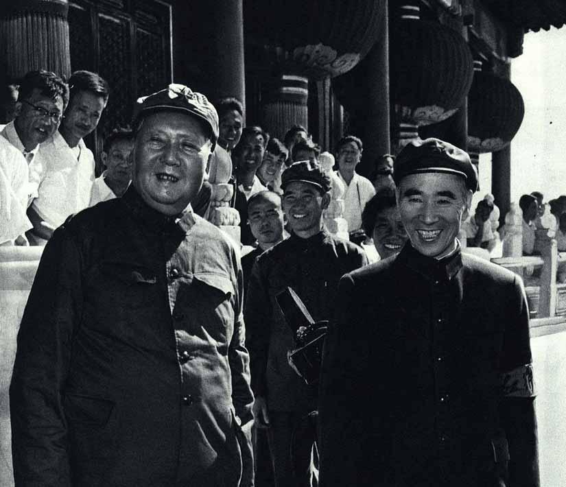 林彪政治巅峰期时的罕见照片(组图)