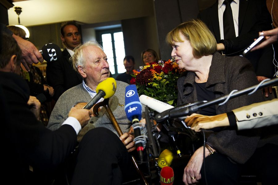 瑞典诗人托马斯·特兰斯特勒默获诺贝尔文学奖(组图)