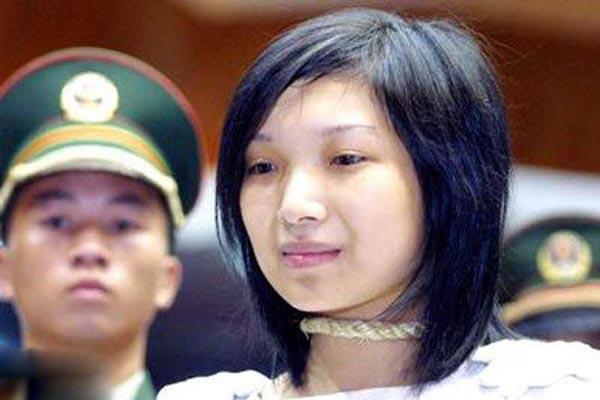 中国最美的十名女死刑犯:多数曾遭性侵犯(组图)